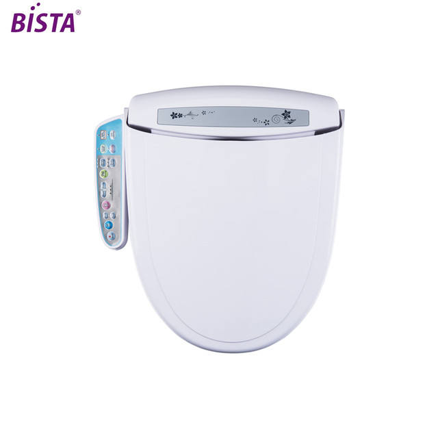 Electronic plastic chinese toilet seat automatic washer heated electric toilet seat electronic toilet