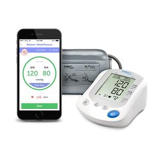API/SDK CE Bluetooth/ Wireless Arm Type Blood Pressure Monitor for telemedicine