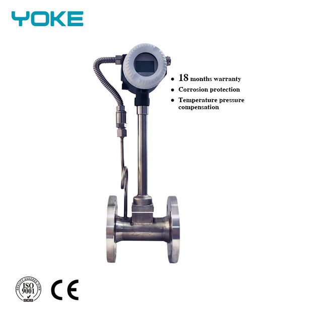 "Explosion Proof Economic Type No Display 32Mm 1 1/4"" Vortex Flowmeter Price"