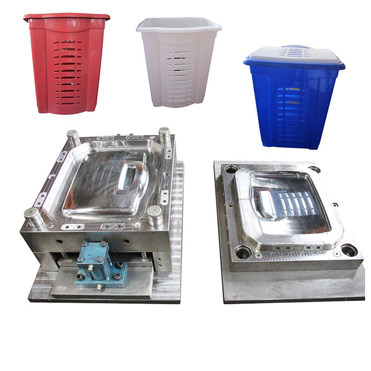 Injection Dustbin Plastic Mould Factory