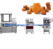 Baby Snack Food Moon Cake Maamoul Making Machine with CE Certification Factory Price