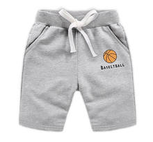 2019 New style children's sport shorts summer pure cotton boy's casual shorts high quality OEM style with elastic waist