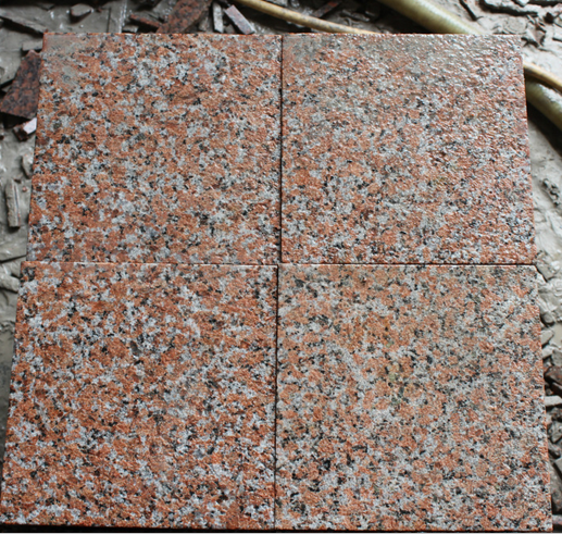 Granite Red High Quality Maple Red G562 Granite For Wall Cladding