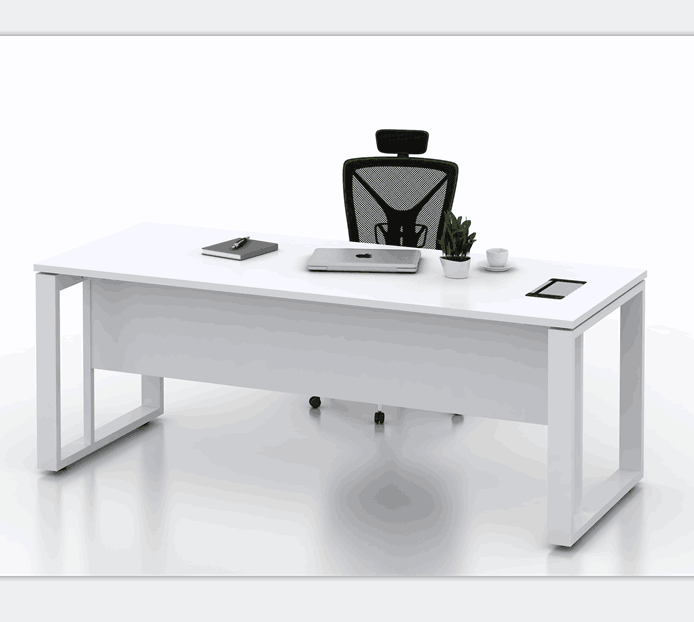 Modern White Office Desk Work Table Office Furniture Price