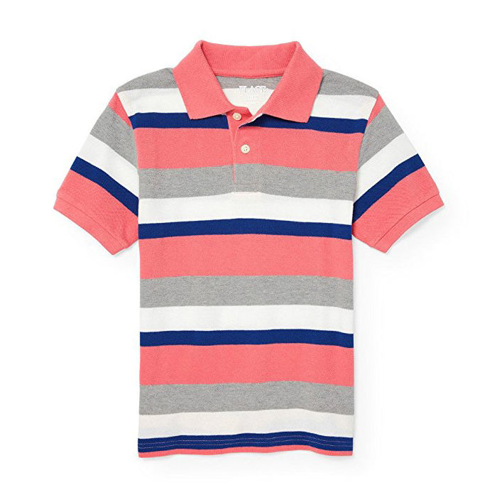 kids polo shirts wholesale pattern customized logo