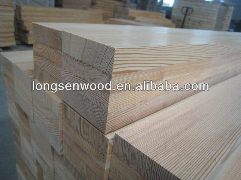 FSC Siberian Larch pine laminated boards