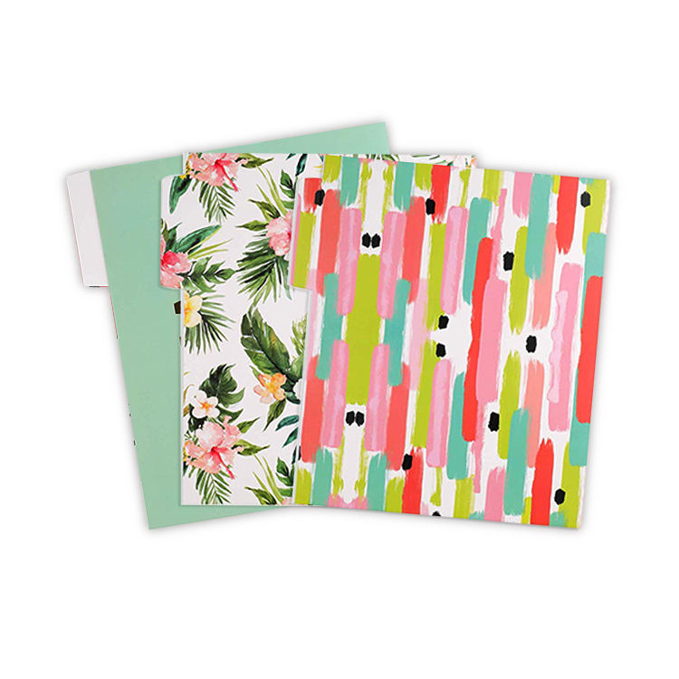 Tabbed Assorted Color Expanding Legal Size Office Wall Hanging File Folders