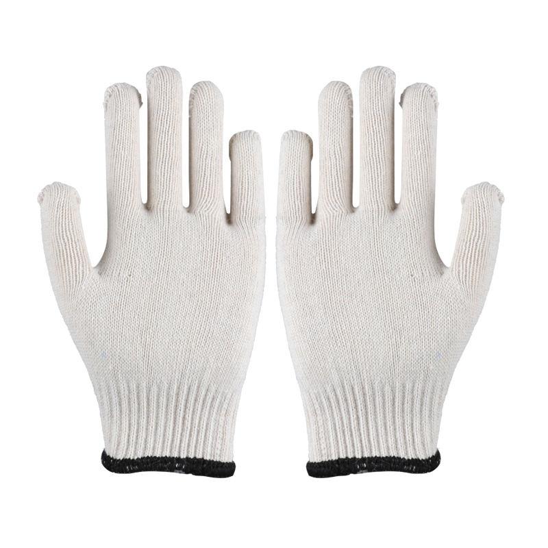 11 12 Pair White Bleached Cotton Gloves Uniform Gloves XXL
