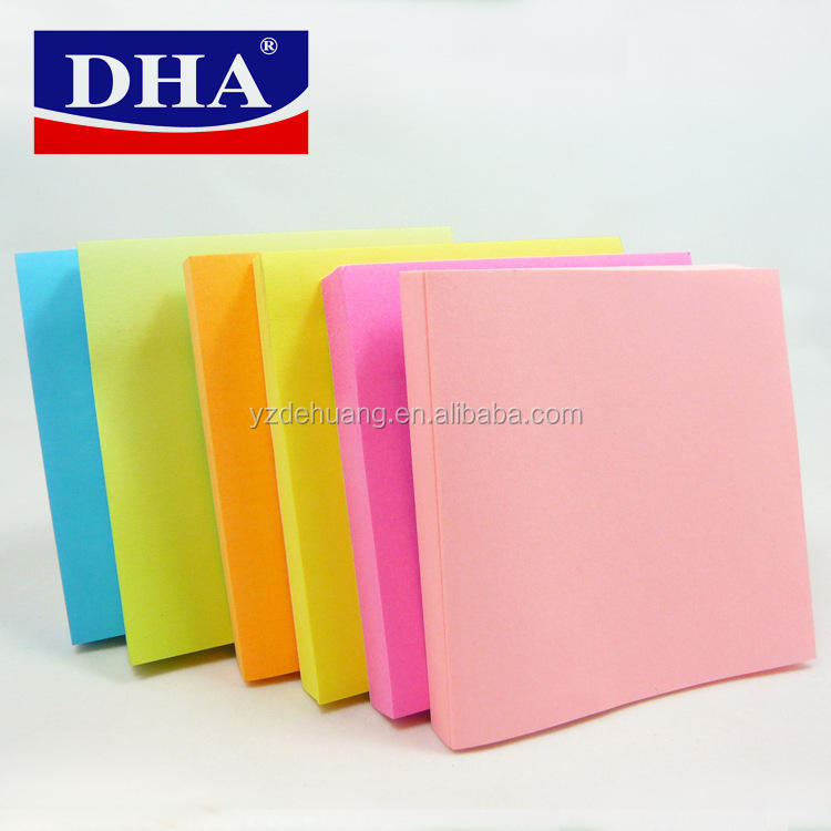 Wholesale China Supplier Alibaba Custom Sticky Notes 3in*3in(DH-9703)