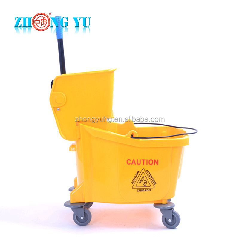 36 Qt. Yellow Mop Bucket & Wringer Combo for Walmart Lowes