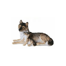 Low Price Resin Life-Like Wolf Figurine