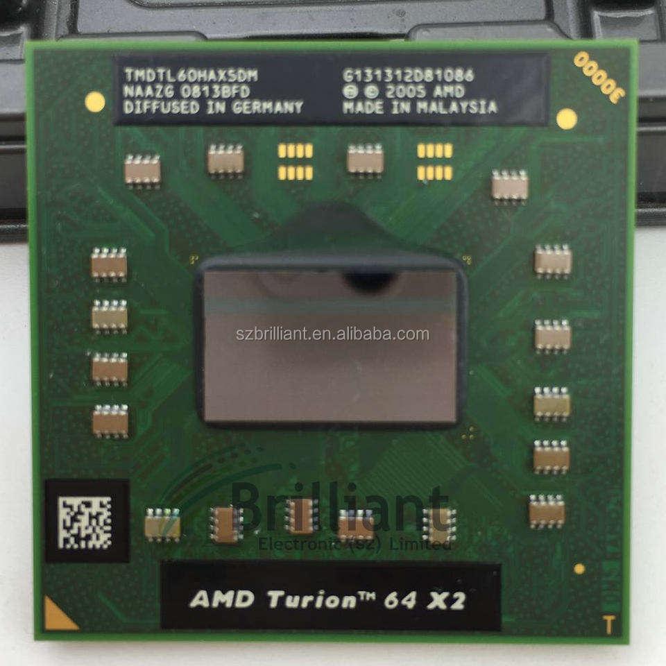 AMD Turion 64 X2 RM-74 TMRM74DAM22GG 2.2 GHz Mobile Laptop CPU Socket S1 RM74