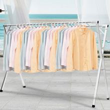 Household Heavy Duty Stand Adjustable Hanging Telescopic Clothes Drying Rack Hanger Stand