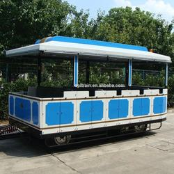 20 seats passenger trailer street trolley