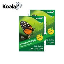 115gsm inkjet a4 size glossy photo paper full color high glossy photo paper