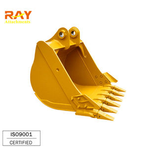 Construction machinery backhoe rock digger bucket