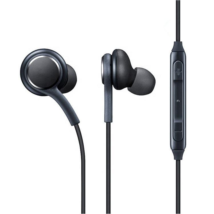 Muestra gratis en todo el mundo en la oreja auricular cancelación del ruido con micrófono S8 S9 híbrido auricular