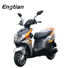 Luxury 1000w li-ion battery 2 wheel electric scooter/electric moped with pedals