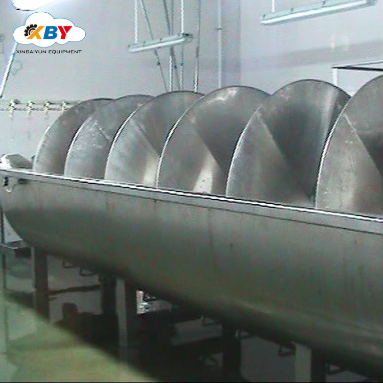 Halal Poultry Chicken Screw Pre-Chilling Machine