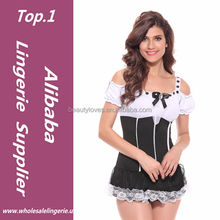 Sexy Girls French Maid Of halloween Sexy Dresses,Adult Shop French Maid High Quality Uniform Dress