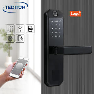 Tuya intelligent smart door lock fingerprint bluetooth WiFi Digital Fingerprint Door Lock For smart home