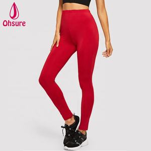 100% cotton high quality sports tights breathable gym wear yoga leggings