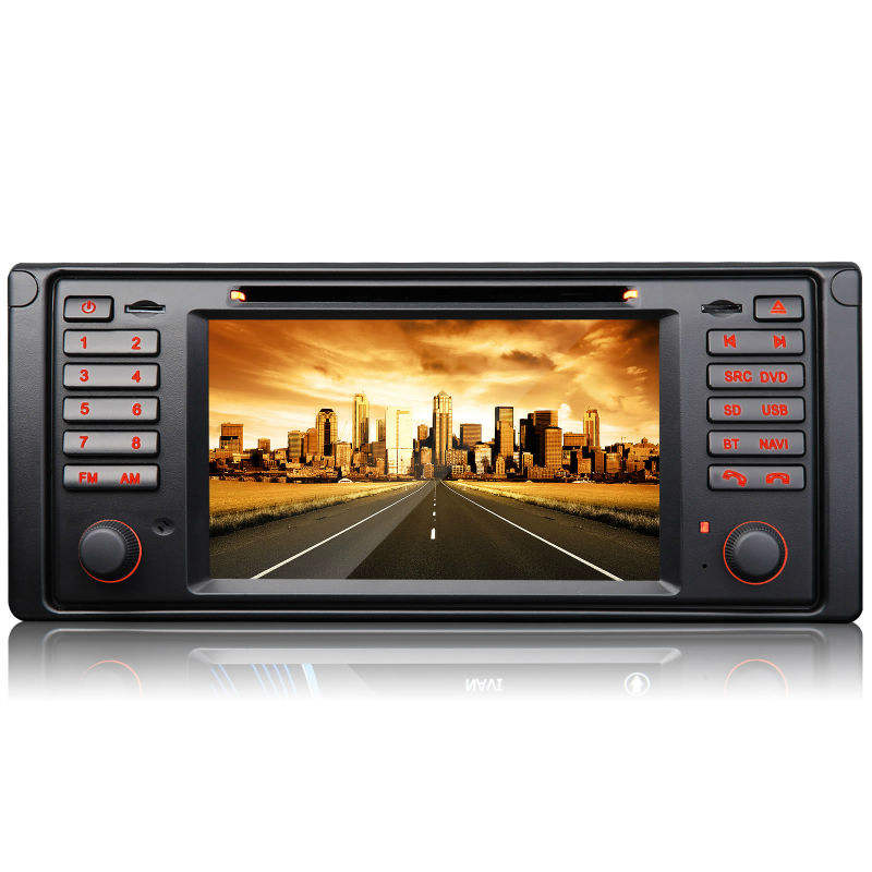 eonon d5124f 7 inch digitale touch screen auto dvd speler voor bmw e39/e53