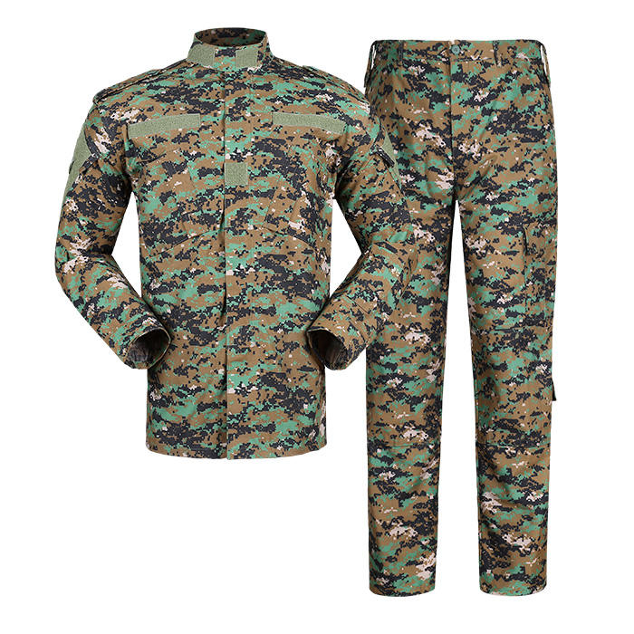 army military jungle/woodland digital camouflage clothing