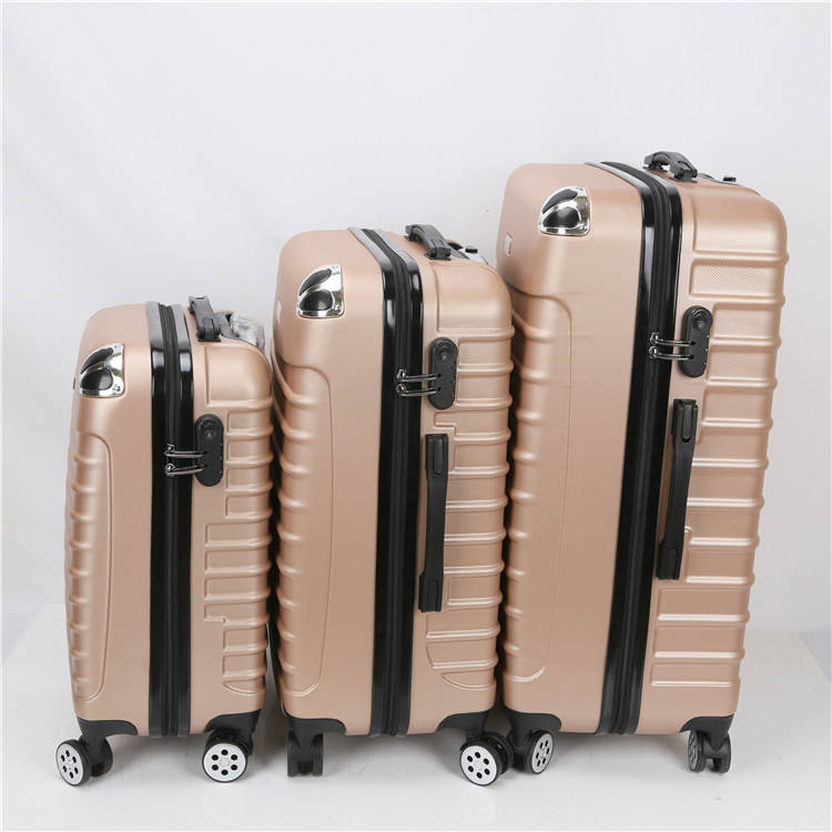 Factory Wholesale Pc Travel Luggage Bag 3 Pieces Trolley Luggage Set