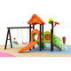 High Quality Small Size Area Park Kindergarten Cheap Kids Outdoor Playground Equipment with Swing