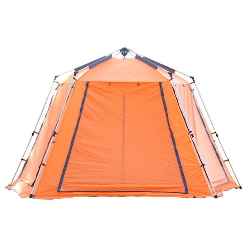 5-8 person tự động giải trí sân cắm trại lều nhôm ba lan Ngay Lập Tức luxe ngoài trời căng lều