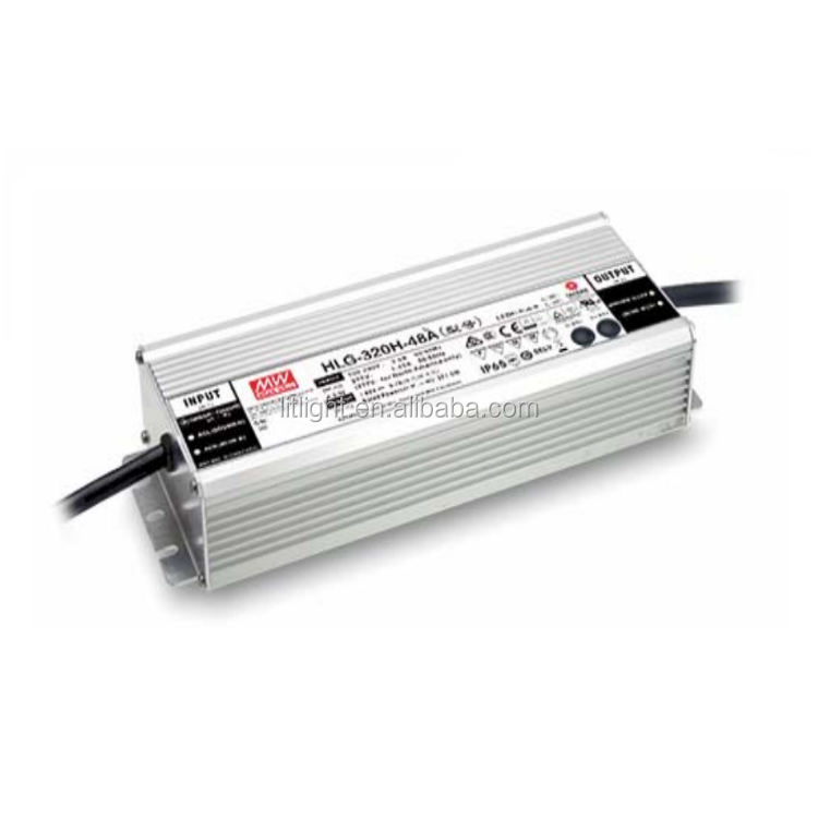 Meanwell 320H Serie HLG-320H-48b HLG-320H-C1400b IP65 IP67 <span class=keywords><strong>Dimbare</strong></span> 320W Voeding Led Driver