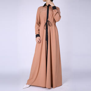 chiffon dubai kaftan front open abaya turkish clothes brands wedding muslim maxi dress