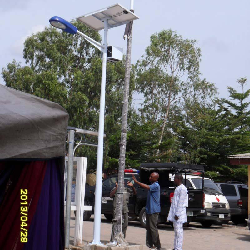 9m 80w solar energy street light price