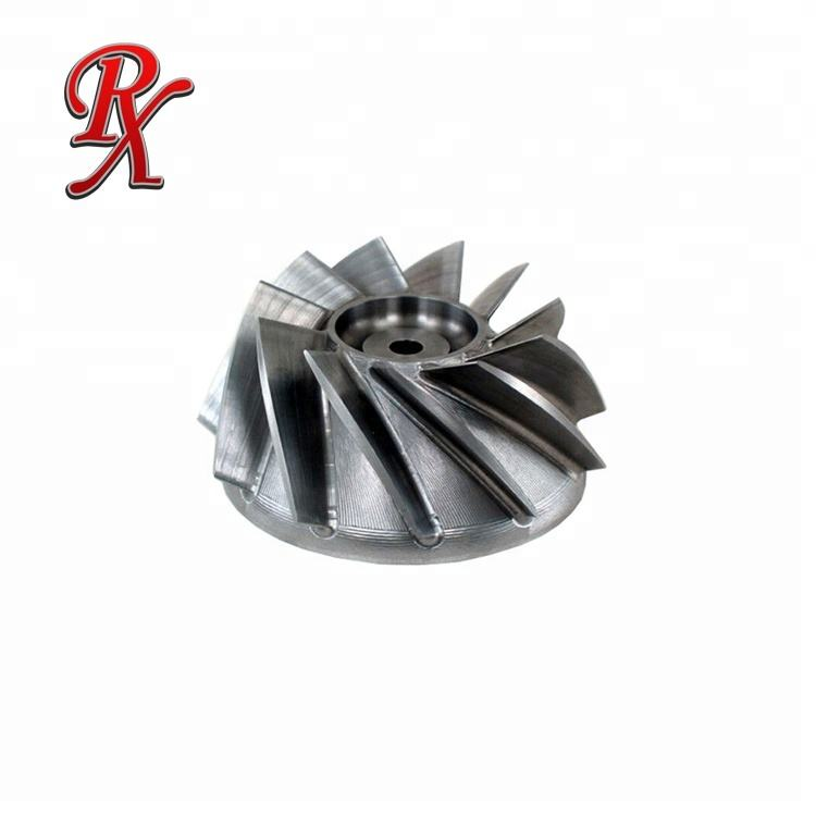 SS304 pump casting iron impeller with CNC
