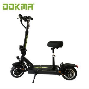 Dokma 3200w 11 inch high power led light campaign electric scooter