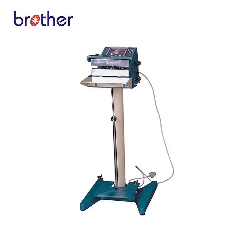 Brother PFS-D300Semi Automatic Direct Model Vertical Style Heat Foot Pedal Film Plastic Bag Sealer Sealing Machine