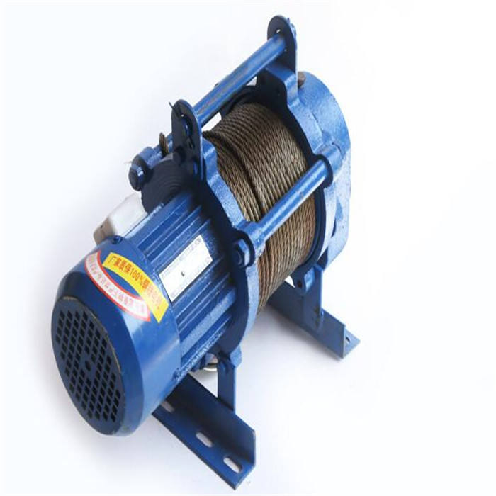 Easy operated kcd electric motor hoist construction lifting hoist