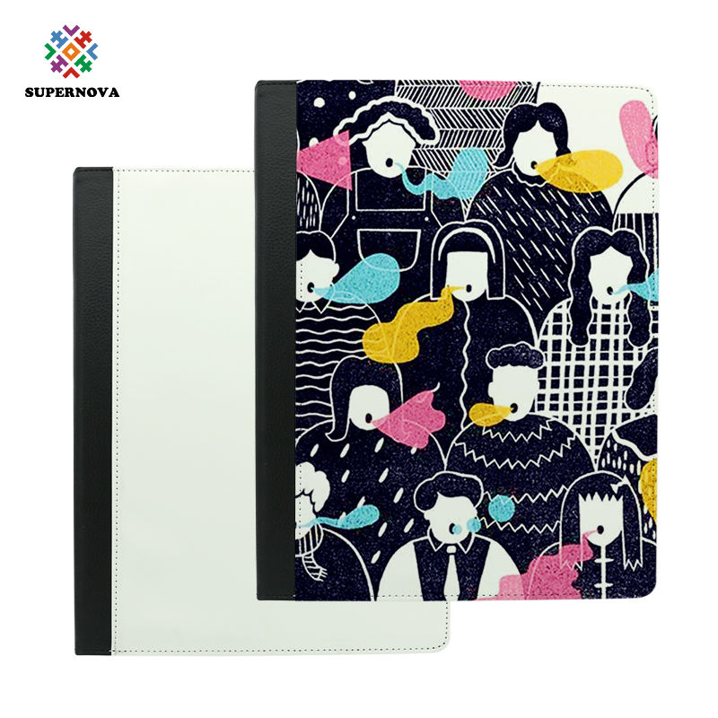 2019 Top Quality Blank Sublimation Leder Flip Cover Hülle <span class=keywords><strong>für</strong></span> <span class=keywords><strong>iPad</strong></span> Pro