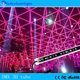 Fireworks DMX 3D Vertical Tube RGB Celling Club