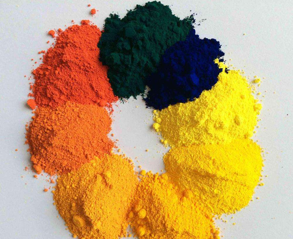 Organic pigment for plastic coating PP, PA, PVC