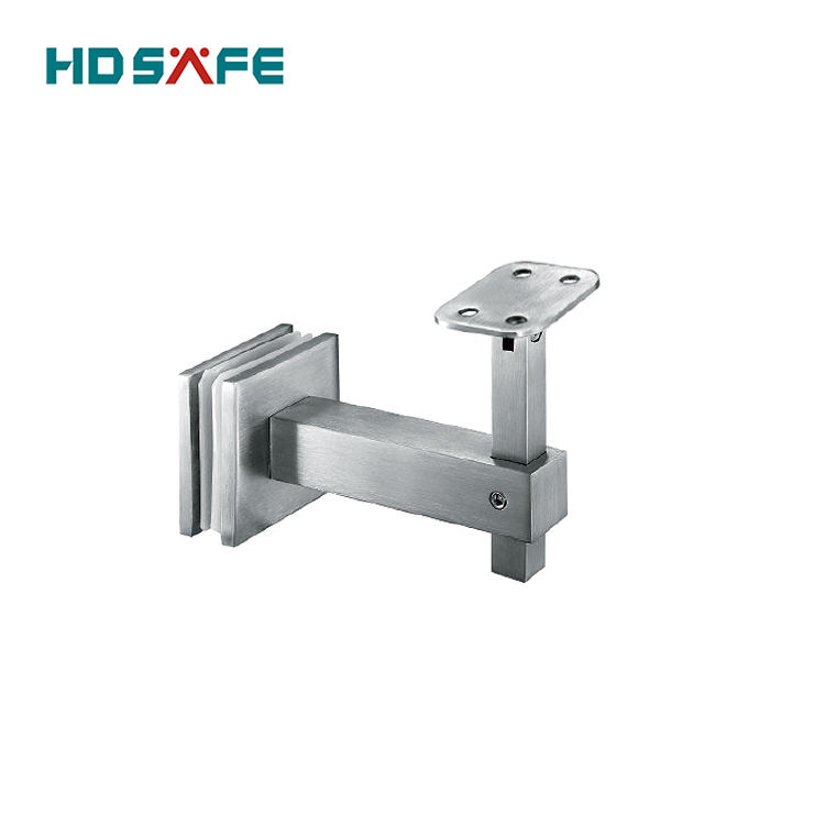 High quality modern design railing accessories stainless steel glass railing bracket