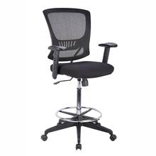 china office furniture tall chair new design swivel lift mid-back stool mesh drafting chair