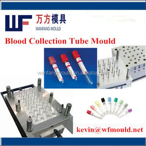 OEM 5ml plastic medical blood collection tube injection mould