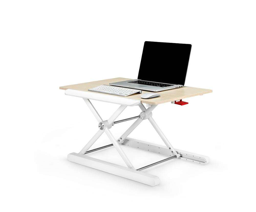 Height Adjustable Office Sit Stand Laptop Computer Desk Riser standing Desk Dongguan adjustable laptop desk stand