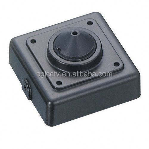 Hot New Products Super 1000 TVL Indoor Audio mini speaker hidden camera With Microphone