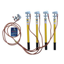 0.4KV Portable grounding set with earthing wire and clamp
