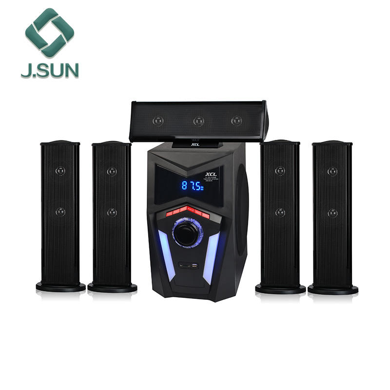 Latest and best 5.1 wireless BT speakers surround sound ohm best dj speakers for home theater