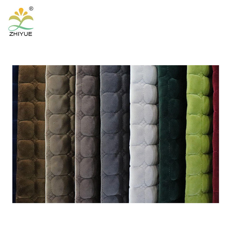 China zhejiang market good review 100% polyester home textile sofa upholstery floral fabric