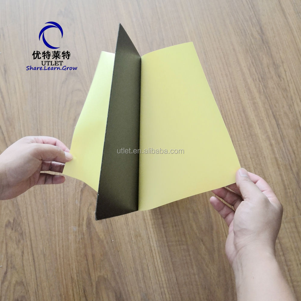 Free sample Black Self Adhesive Foam PVC Sheet For Photo Album